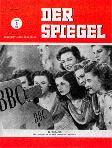 DER SPIEGEL Nr. 25, 19.6.1948 bis 25.6.1948