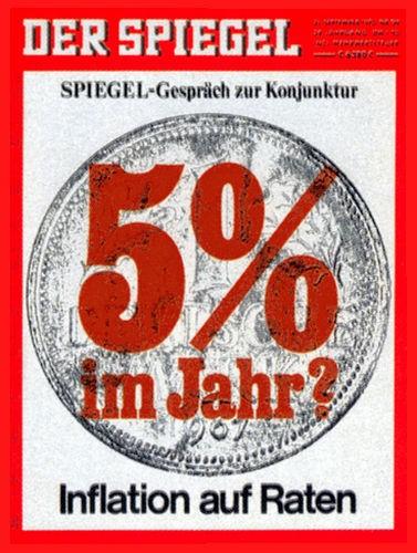 Original Zeitung DER SPIEGEL vom 21.9.1970 bis 27.9.1970