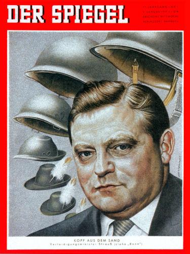 Januar der spiegel 1957 der spiegel 1946 1959 for Zeitung spiegel