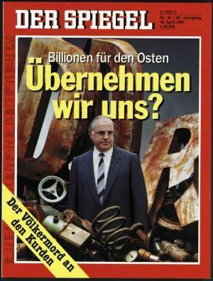 DER SPIEGEL Nr. 16, 15.4.1991 bis 21.4.1991