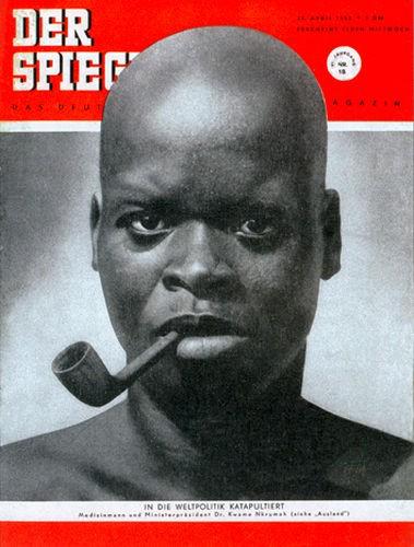 Dr. Kwame Nkrumah, 30.4.1952, 1.5.1952, 2.5.1952, 3.5.1952, 4.5.1952, 5.5.1952, 6.5.1952