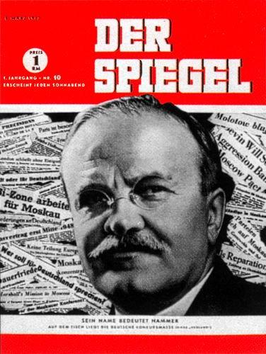 DER SPIEGEL Nr. 10, 8.3.1947 bis 14.3.1947