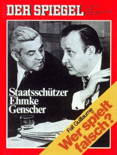 DER SPIEGEL Nr. 19, 6.5.1974 bis 12.5.1974