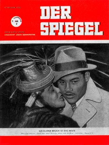 DER SPIEGEL Nr. 2, 12.1.1950 bis 18.1.1950