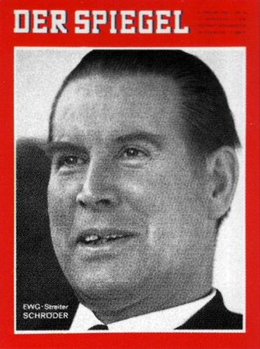 DER SPIEGEL Nr. 6, 6.2.1963 bis 12.2.1963