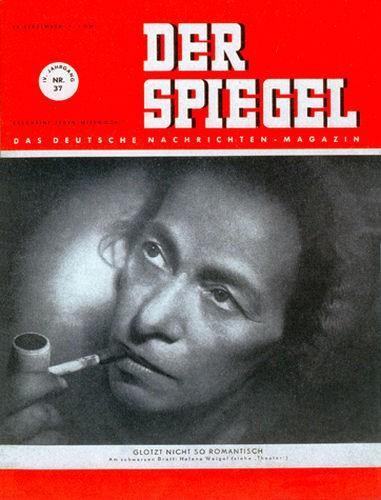 DER SPIEGEL Nr. 37, 13.9.1950 bis 19.9.1950