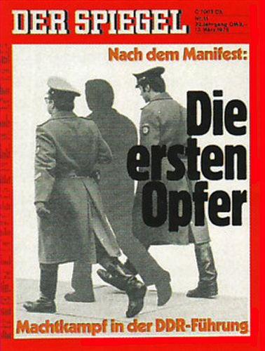 DER SPIEGEL Nr. 11, 13.3.1978 bis 19.3.1978