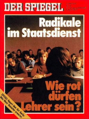 DER SPIEGEL Nr. 15, 9.4.1973 bis 15.4.1973