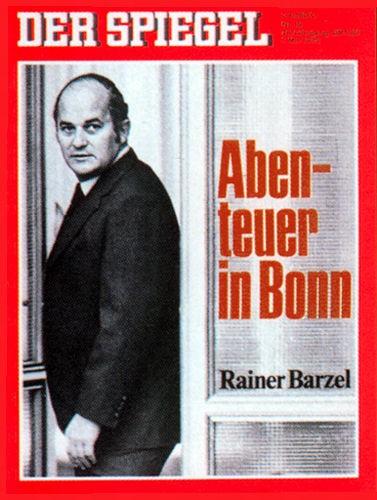 DER SPIEGEL Nr. 19, 1.5.1972 bis 7.5.1972