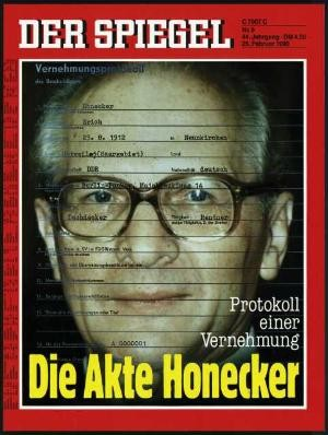 DER SPIEGEL Nr. 9, 26.2.1990 bis 4.3.1990