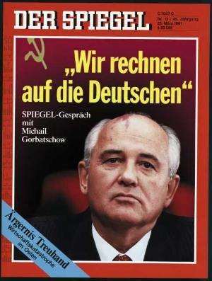DER SPIEGEL Nr. 13, 25.3.1991 bis 31.3.1991