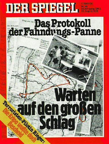 DER SPIEGEL Nr. 35, 28.8.1978 bis 3.9.1978