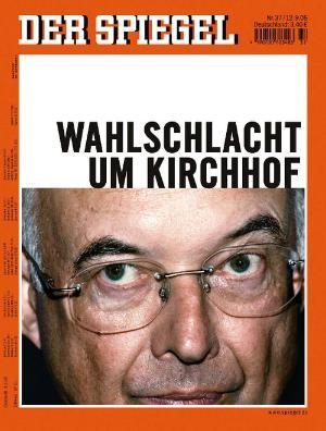 DER SPIEGEL Nr. 37, 12.9.2005 bis 18.9.2005