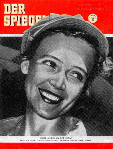 Original Zeitung DER SPIEGEL vom 11.7.1951 bis 17.7.1951