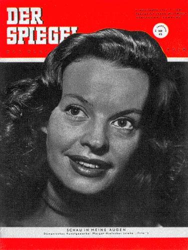 DER SPIEGEL Nr. 45, 5.11.1952 bis 11.11.1952
