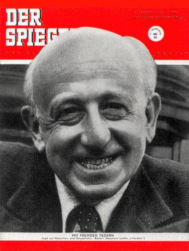 DER SPIEGEL Nr. 35, 27.8.1952 bis 2.9.1952