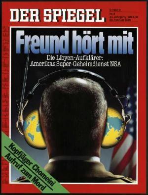 DER SPIEGEL Nr. 8, 20.2.1989 bis 26.2.1989