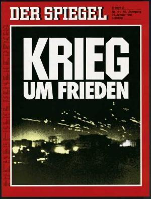 DER SPIEGEL Nr. 4, 21.1.1991 bis 27.1.1991