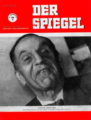 DER SPIEGEL Nr. 5, 2.2.1950 bis 8.2.1950