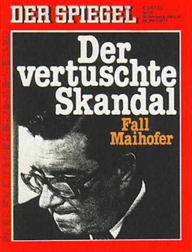 DER SPIEGEL Nr. 12, 14.3.1977 bis 20.3.1977