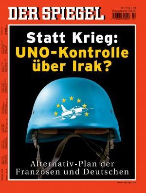 DER SPIEGEL Nr. 7, 10.2.2003 bis 16.2.2003