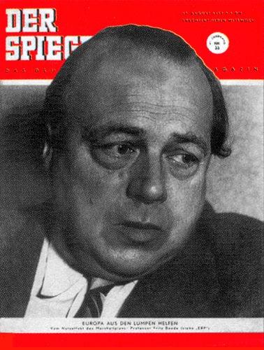 DER SPIEGEL Nr. 33, 13.8.1952 bis 19.8.1952