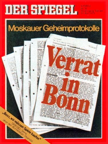 DER SPIEGEL Nr. 18, 24.4.1972 bis 30.4.1972