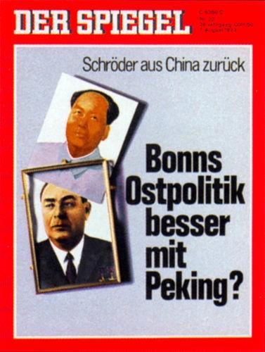 DER SPIEGEL Nr. 33, 7.8.1972 bis 13.8.1972