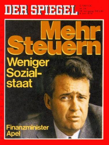 DER SPIEGEL Nr. 24, 9.6.1975 bis 15.6.1975