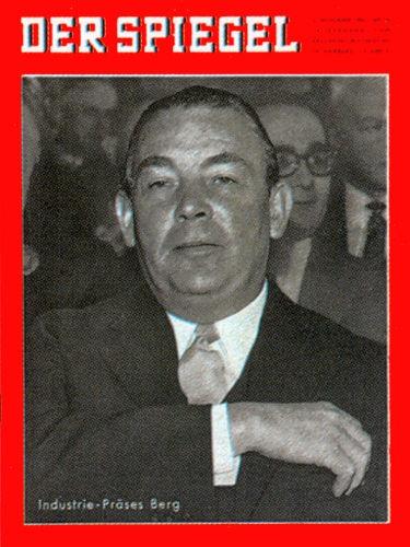 DER SPIEGEL Nr. 45, 2.11.1960 bis 8.11.1960