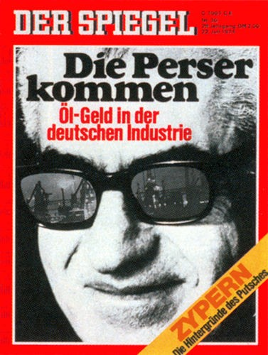 DER SPIEGEL Nr. 30, 22.7.1974 bis 28.7.1974