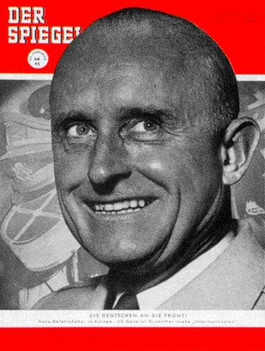 DER SPIEGEL 45/1954, Zeitung 3.11.1954, 4.11.1954, 5.11.1954, 6.11.1954, 7.11.1954, 8.11.1954, 9.11.1954