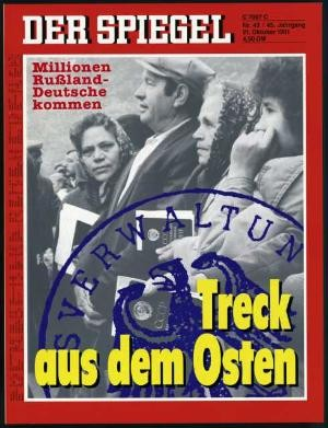 DER SPIEGEL Nr. 43, 21.10.1991 bis 27.10.1991