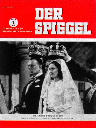 DER SPIEGEL Nr. 30, 26.7.1947 bis 1.8.1947