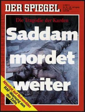 DER SPIEGEL Nr. 15, 8.4.1991 bis 14.4.1991