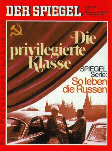 DER SPIEGEL Nr. 9, 23.2.1976 bis 29.2.1976