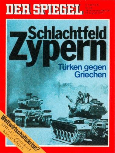 DER SPIEGEL Nr. 34, 19.8.1974 bis 25.8.1974