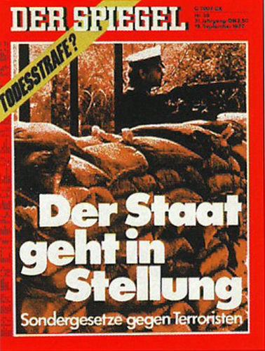Der Spiegel 39/1977, Der Staat geht in Stellung
