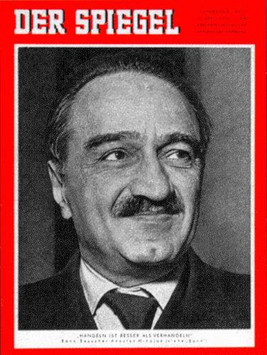 DER SPIEGEL Nr. 17, 23.4.1958 bis 29.4.1958