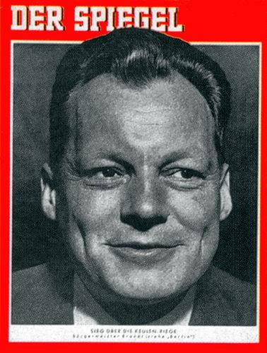 Original Zeitung DER SPIEGEL vom 9.10.1957 bis 15.10.1957