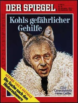 DER SPIEGEL Nr. 40, 29.9.1986 bis 5.10.1986