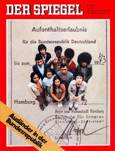 DER SPIEGEL Nr. 39, 18.9.1972 bis 24.9.1972