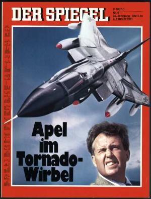 2.2.1981, 3.2.1981, 4.2.1981, 5.2.1981, 6.2.1981, 7.2.1981, 8.2.1981, Original Zeitung DER SPIEGEL vom 2.2.1981 bis 8.2.1981