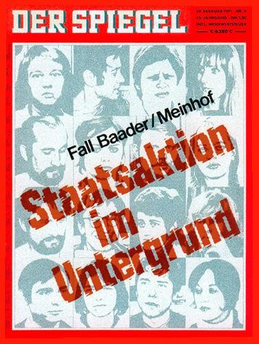 DER SPIEGEL Nr. 9, 22.2.1971 bis 28.2.1971