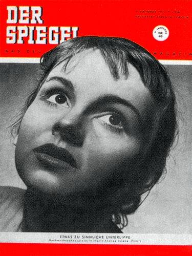 DER SPIEGEL Nr. 40, 3.10.1951 bis 9.10.1951