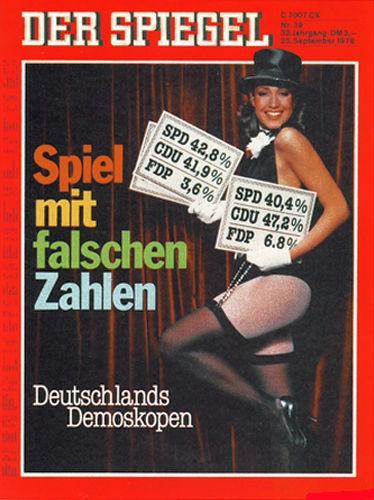 DER SPIEGEL Nr. 39, 25.9.1978 bis 1.10.1978