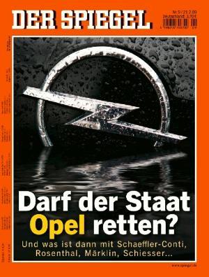 DER SPIEGEL Nr. 9, 21.2.2009 bis 27.2.2009