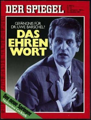 DER SPIEGEL Nr. 42, 12.10.1987 bis 18.10.1987