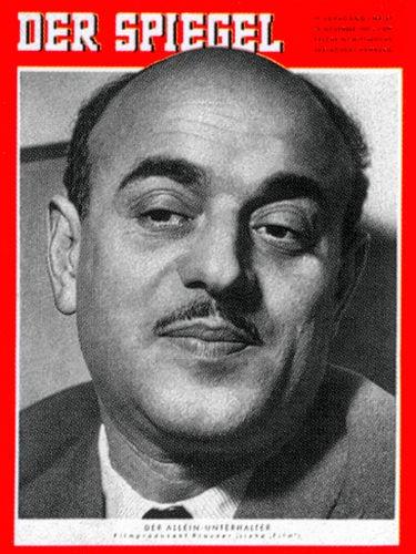 DER SPIEGEL Nr. 47, 20.11.1957 bis 26.11.1957