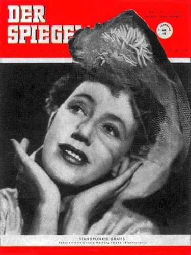 DER SPIEGEL Nr. 18, 2.5.1951 bis 8.5.1951